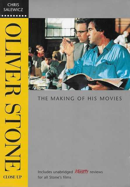 Oliver Stone Close Up: The Making of His Movies, Chris Salewicz