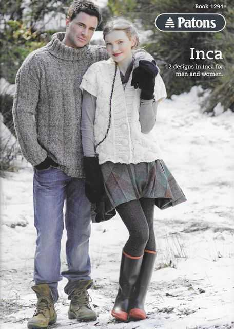 Image for Patons Inca - 12 Designs in Inca for Men and Women [Book 1294]