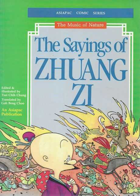 Image for The Sayings of Zhuang Zi [Asiapac Comic Series - The Music of Nature]