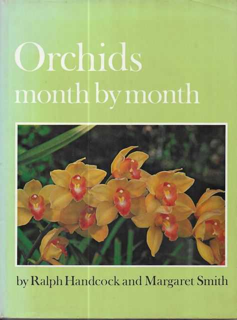 Image for Orchids Month By Month