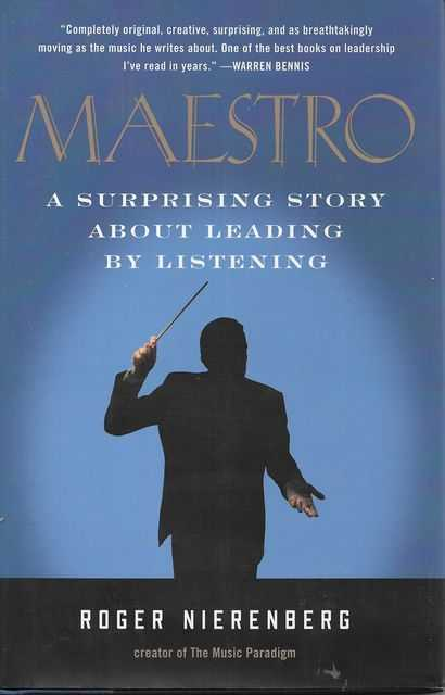 Image for Maestro: A Surprising Story About Leading By Listening
