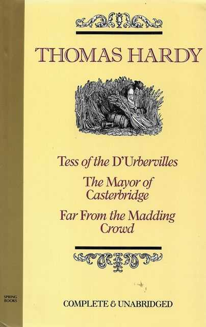 Image for Tess of the D'urbervilles; The Mayor of Casterbridge; Far From The Madding Crowd
