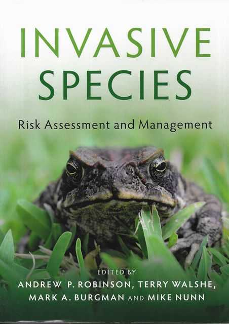 Image for Invasive Species : Risk Assessment and Management