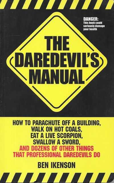 Image for The Daredevil's Manual