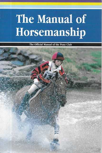 Image for The Manual of Horsemanship - The official Manual of the Pony Club