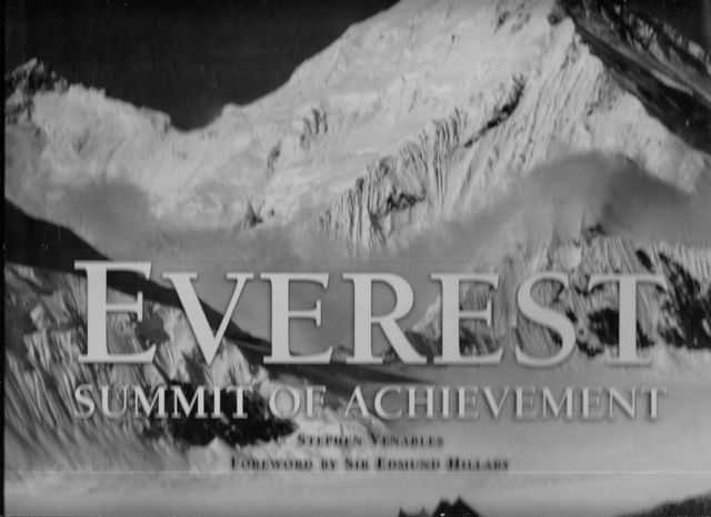 Image for Everest: Summit of Achievement