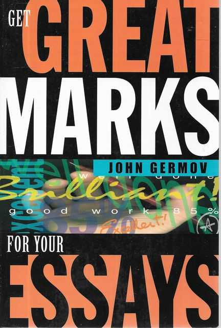 Image for Get Great Marks for Your Essays