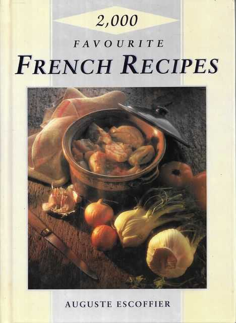 Image for 2,000 Favourite French Recipes