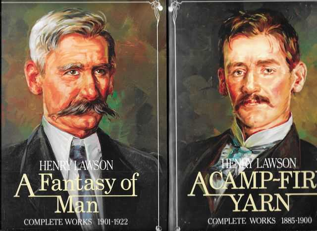 Image for A Camp-fire Yarn 1885-1900 and A Fantasy of Man 1901-1922: Henry Lawson Complete Works, Two (2) Volume Set