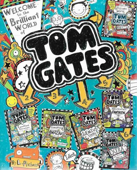 Image for Tom Gates 1-6 [Boxed Set]