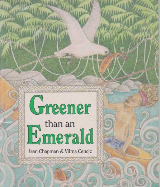 GREENER THAN AN EMERALD, Chapman, Jean