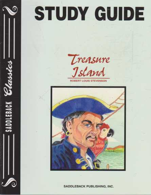 TREASURE ISLAND - With Study Guide ( Saddleback Classics ), Robert Louis Stevenson ( adapted by Janice Greene )