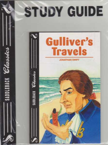 GULLIVER'S TRAVELS - With Study Guide ( Saddleback Classics ), Swift Jonathan ( adapted by Janice Greene )