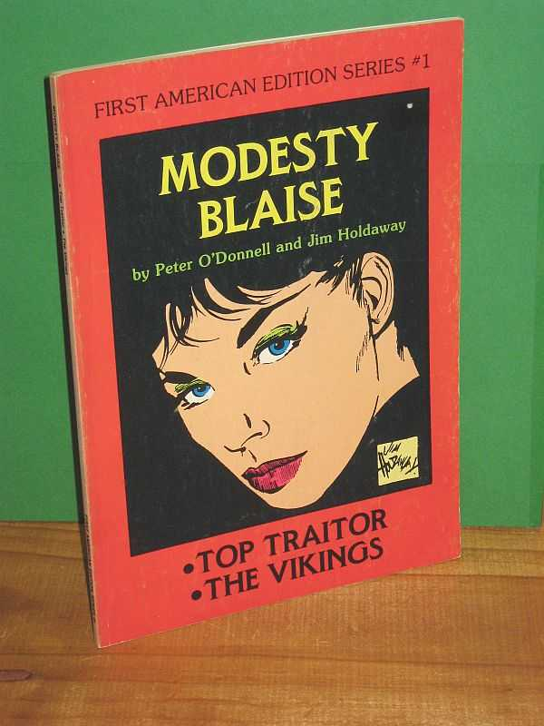 Image for Modesty Blaise : Top Traitor; The Vikings