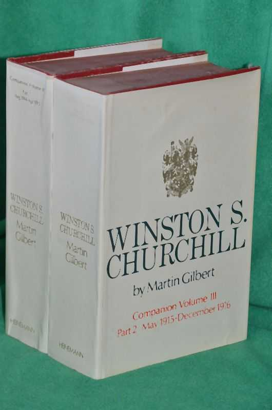 Image for Winston Churchill Companion Volume III Parts 1 + 2; August 1914 to December 1916
