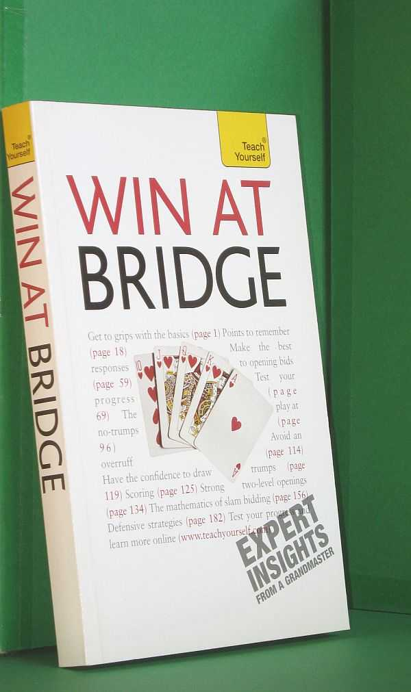 Image for Win At Bridge: Teach Yourself