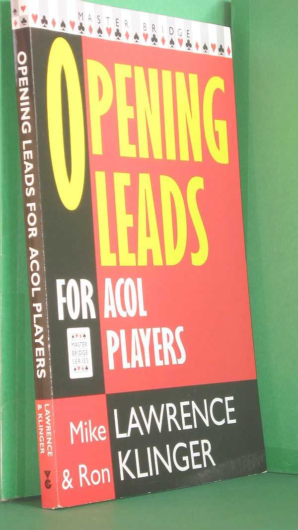Image for Opening Leads For Acol PL