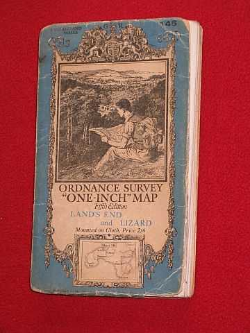 VARIOUS / UNSTATED - Ordnance Survey One-inch Map Fifth Edition, Land's End and Lizard Sheet 146
