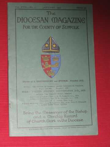 VARIOUS / UNSTATED - The Diocesan Magazine for the County of Suffolk: Vol.XVII - No. 7 (January, 1931)