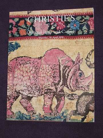 CHRISTIE'S - Oriental Rugs and Carpets (from various sources) April 30 1998