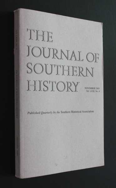 The Journal of Southern History November 2005 LXXI No. 4, Boles (ed), John B.