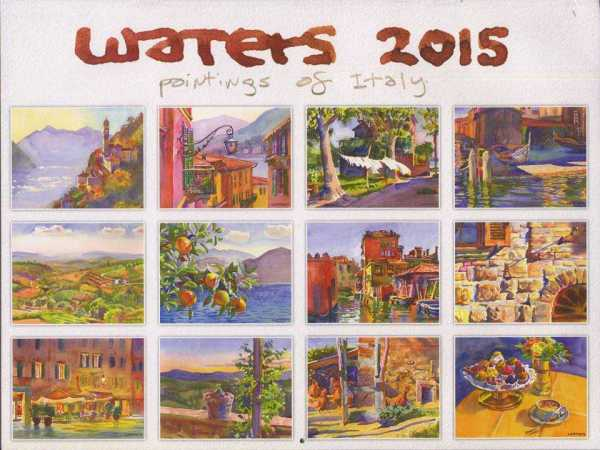 Waters 2015: Paintings of Italy, Waters, Wyatt