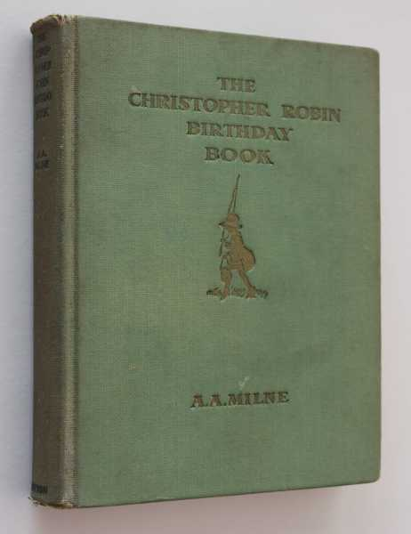 The Christopher Robin Birthday Book, Milne, A. A.