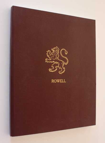 The Complete Registry of the Rowells in America, Taylor, Sharon