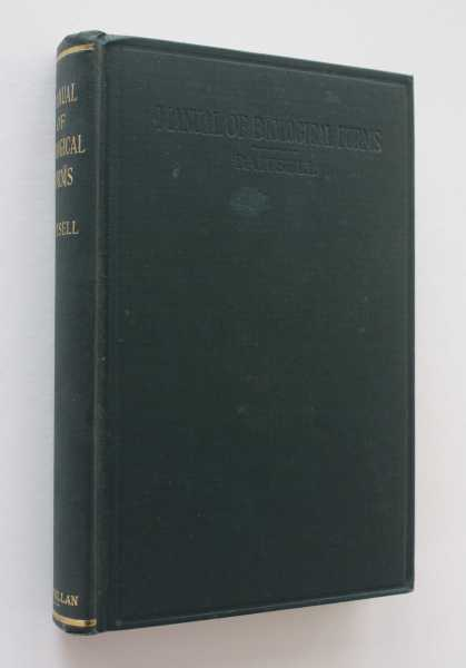 Manual of Biological Forms, Baitsell, George A.