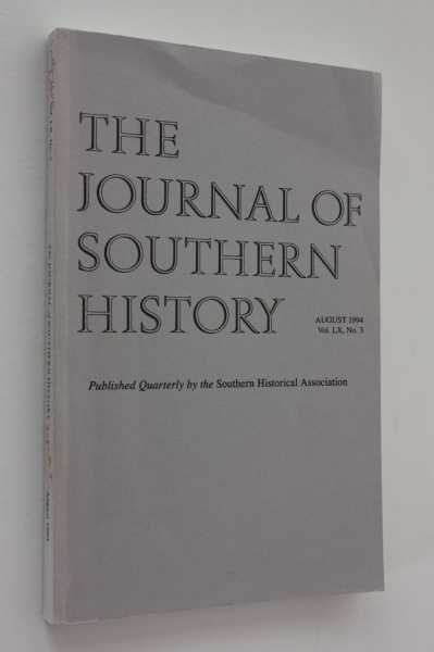 The Journal of Southern History August 1994 LX No. 3, Boles (ed), John B.