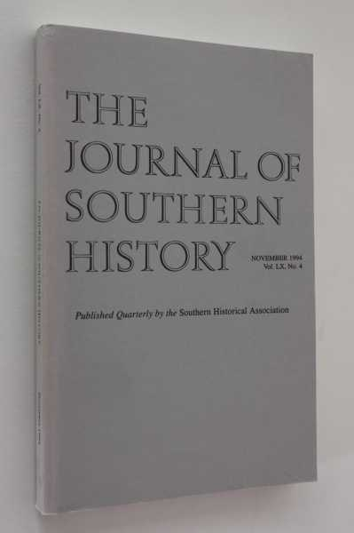 The Journal of Southern History November 1994 LX No. 4, Boles (ed), John B.