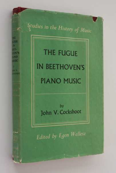 The Fugue in Beethoven's Piano Music, Cockshoot, John V.