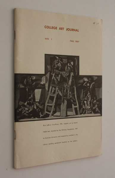 College Art Journal, Volume XVII, No. 1, Fall 1957, Hope (ed), Henry R.