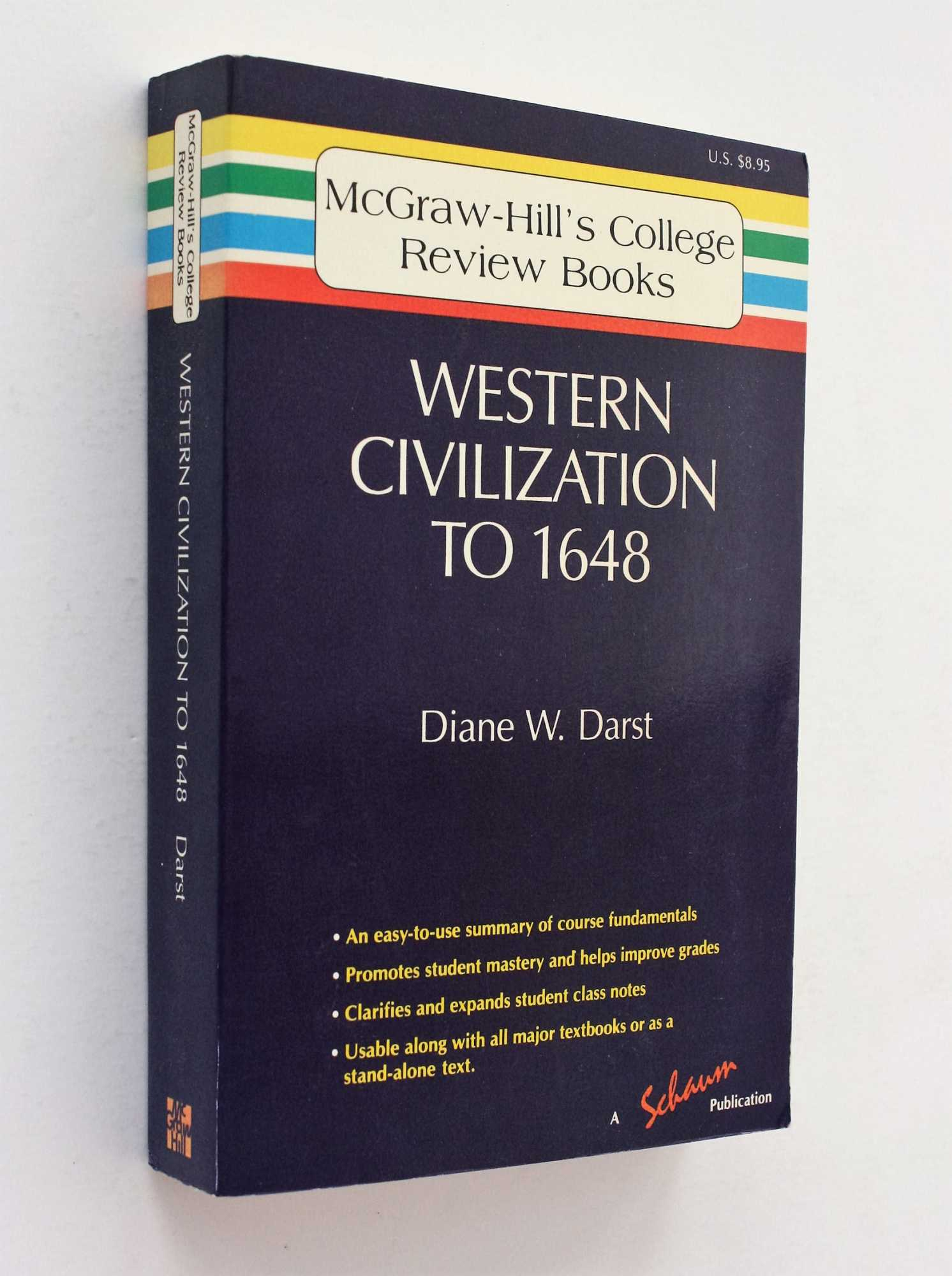 Western Civilization to 1648, Darst, Ph.D., Diane W.