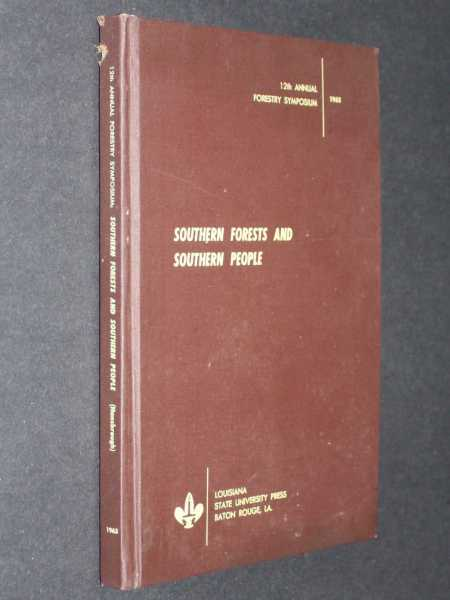 Southern Forests and Southern People, Hansbrough (ed), Thomas