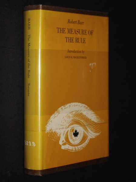 The Measure of the Rule, Barr, Robert