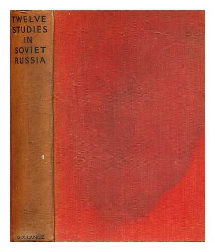 NEW FABIAN RESEARCH BUREAU, LONDON. COLE, MARGARET (ED. ) - Twelve Studies in Soviet Russia