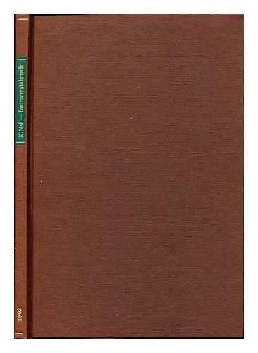 NEF, KARL (1873-1935) - Zur Geschichte der deutschen Instrumentalmusik in der zweiten Ha?lfte des 17. Jahrhunderts / von Karl Nef. Mit einem Anhange: Notenbeispiele in Auswahl