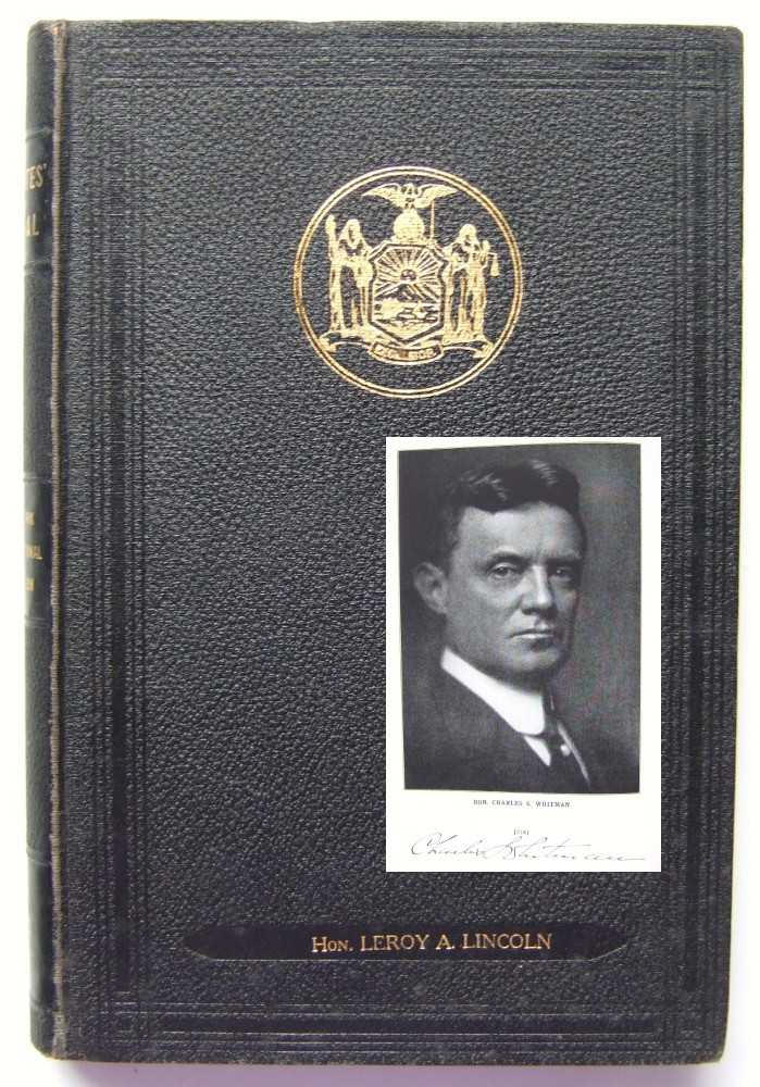 Delegates Manual: New York Constitutional Convention 1915; The Convention Manual of Procedure, Forms and Rules for the Regulation of Business in the Seventh New York State Constitutional Convention, Francis M. Hugo; Charles S. Whitman (New York Governor); et al