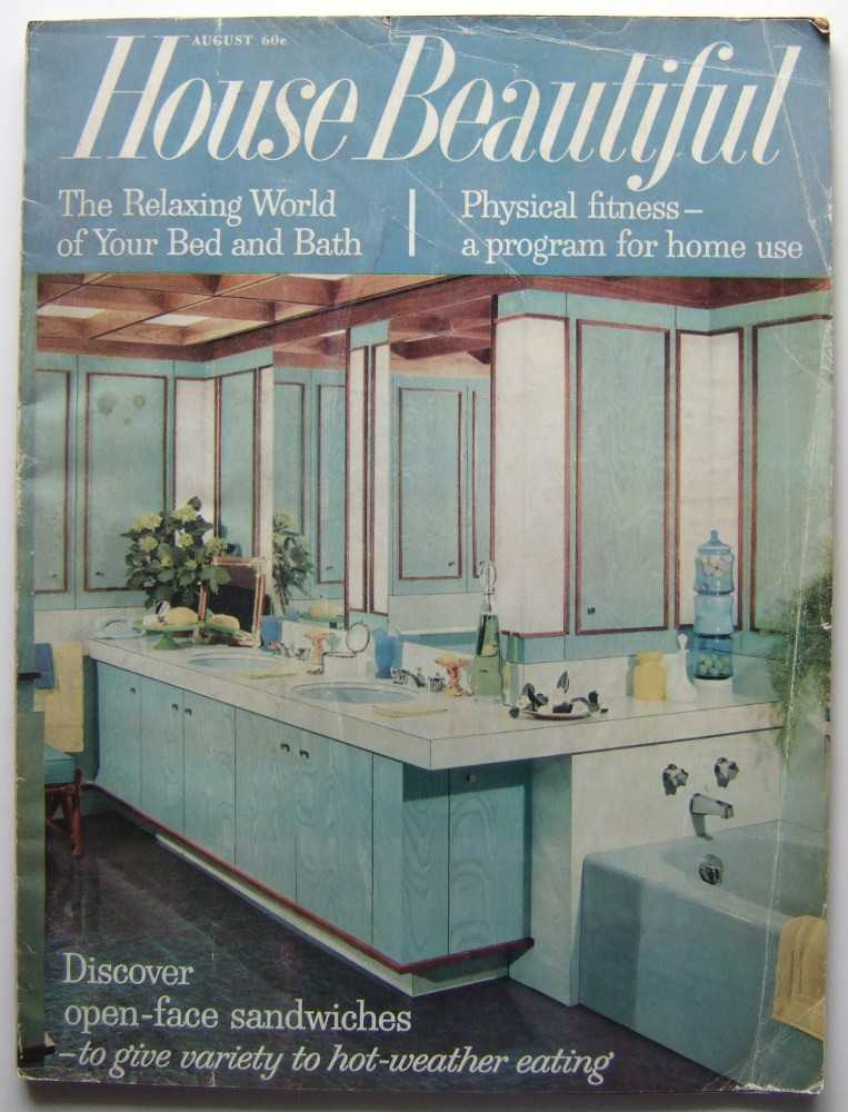 House Beautiful (August, 1961 Vol. 103, #8), Gordon (editor), Elizabeth