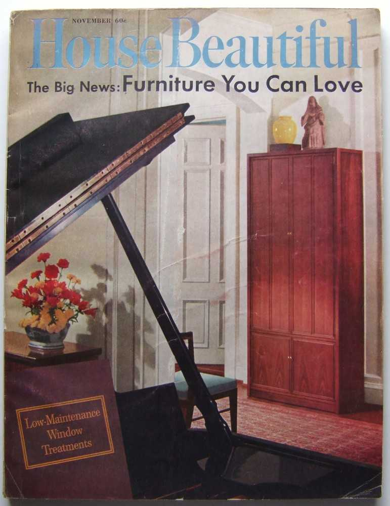 House Beautiful (November, 1961 Vol. 103, #11), Gordon (editor), Elizabeth