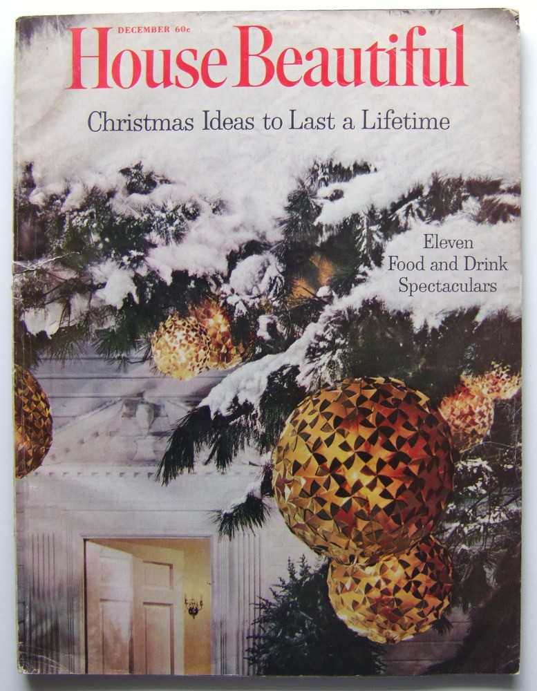 House Beautiful (December, 1961 Vol. 103, #12), Gordon (editor), Elizabeth