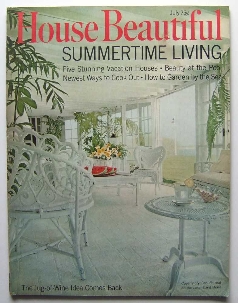 House Beautiful (July, 1968 Vol. 110, #7), Elizabeth Gordon (editor); Kenneth Isaacs