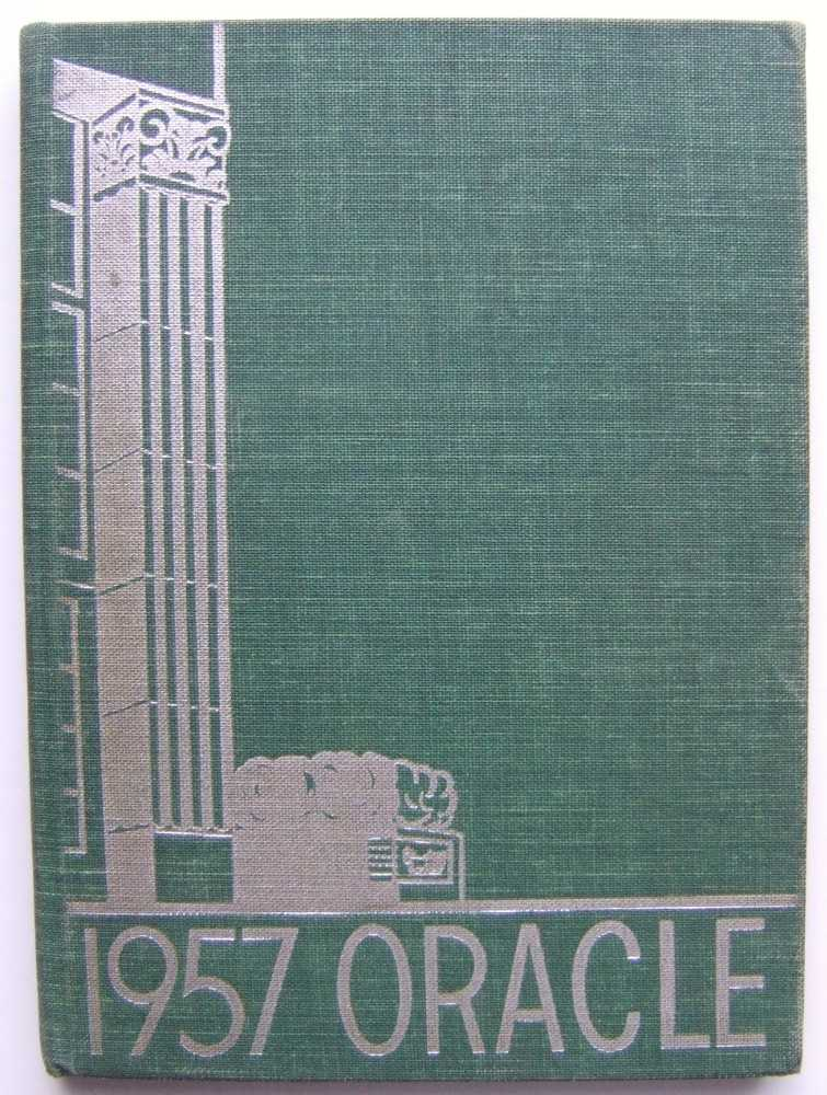 The Oracle: 1957 Malverne High School Yearbook, Malverne, New York, Yearbook Staff