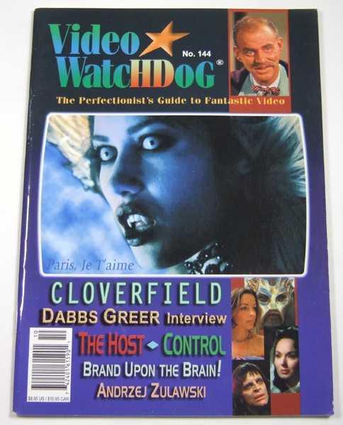 Image for Video Watchdog #144 (October 2008)