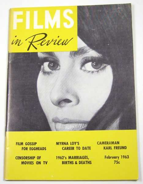 Image for Films in Review (February, 1963)