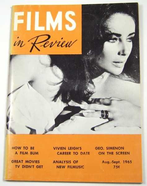 Films in Review (August-September, 1965), Hart (ed), Henry