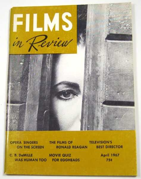 Films in Review (April, 1967), Hart (ed), Henry