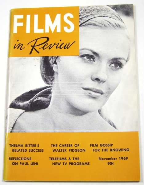 Image for Films in Review (November, 1969)