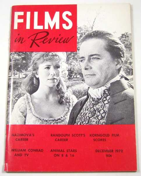 Image for Films in Review (December, 1972)